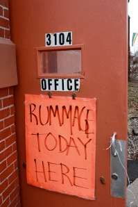Walker UMC rummage sale started today