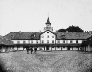Frogner manor, on outskirts of Oslo, Norway, c. 1895, when John Gade received his RLS books