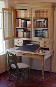 Stevenson's desk in Saranac Lake cottage