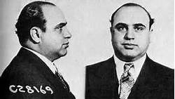 "Ever the romantic, Harold ""Big Droopy"" Vitale adorned each of his St. Valentine's Day Massacre victims with  a red rosebud in the mouth."