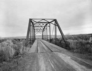The ACTUAL bridge over Owl Creek.  You're welcome.