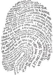Fingerprint comprised of words
