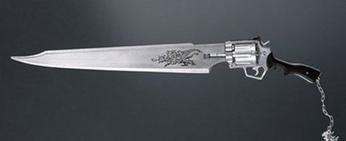 Gunblades don't actually exist.  Sorry.