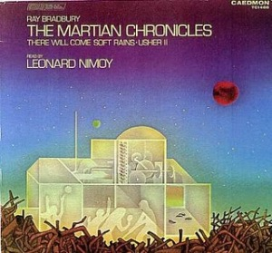 Cover of the record on which Mr. Spock reads some of The Martian Chronicles.  Random enough for you?