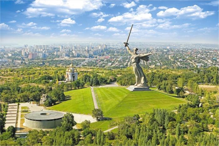 Stalingrad statue.
