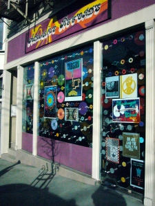 Aquarius Records storefront