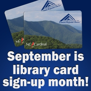 Stop by your library and get your card today!