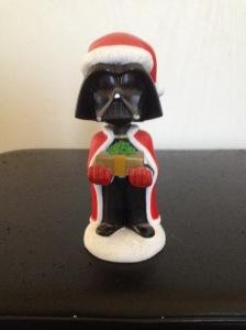 Darth Vader Santa bobblehead