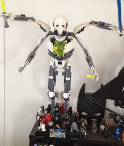 LEGO General Grievous and minifigs