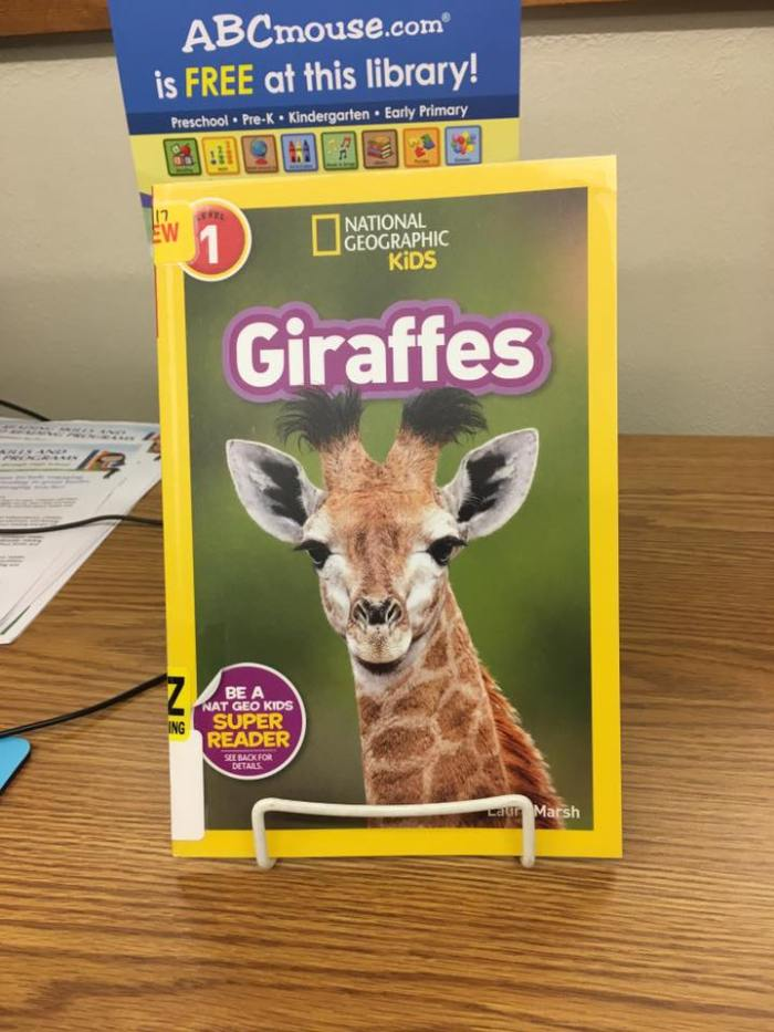Giraffe is a book