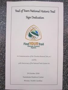 ToT sign dedication program