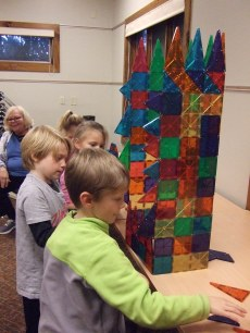 Building with MagnaTiles