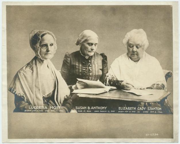 Lucretia Mott, Elizabeth Cady Stanton,